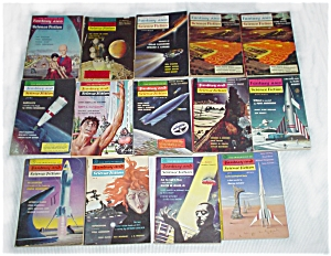 Late 1950's Magazines of Fantasy and Sci-Fi (Image1)