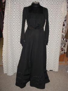 Black 2-pc. Dress (Image1)