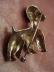 Click to view larger image of Alice Caviness sterling poodle pin (Image2)