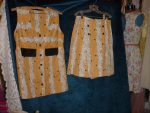 Click here to enlarge image and see more about item bab5006: Vintage shorts set