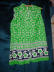 Click to view larger image of Bright green summer two piece shorts set (Image2)