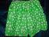 Click to view larger image of Bright green summer two piece shorts set (Image5)