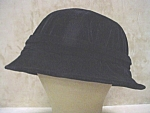 Click here to enlarge image and see more about item hth813: c1915 Black Velveteen Hat