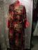 Click to view larger image of Fantastic Satin Print 1920's/30's Robe (Image3)