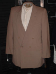 Click here to enlarge image and see more about item menb501: Vintage mens suit jacket