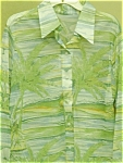 Click to view larger image of Men's long sleeve Palm Tree shirt (Image1)