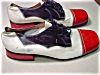 Click to view larger image of Vintage Carlo Leoni Red,White & Blue  Shoes (Image2)