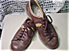 Click to view larger image of Mens Vintage Brown Bowling Shoes (Image2)