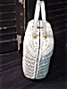 Click to view larger image of White Wicker with lucite handles Handbag (Image2)
