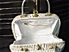 Click to view larger image of White Wicker with lucite handles Handbag (Image3)