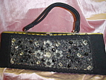 Click to view larger image of Vintage Caron of Houston Texas Beaded Purse (Image1)