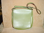 Click to view larger image of Liz Claiborne Green Shoulder Strap Purse (Image1)