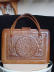 Click to view larger image of Eagle Tooled Leather Handbag (Image8)