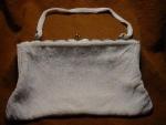 Click to view larger image of Walborg White Beaded Handbag (Image1)