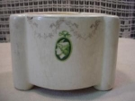 Click here to enlarge image and see more about item roh4: Roseville Creamware Planter
