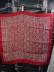 Click to view larger image of Liberty of London Deep Red Patterned Scarf (Image2)