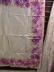Click to view larger image of Oscar de la Renta Purple Floral Scarf (Image3)