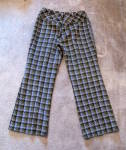 Click to view larger image of 1970's Arthur Byer patterned bellbottoms, XL (Image2)