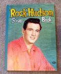 Click here to enlarge image and see more about item tcl013: 1957 Rock Hudson Scrapbook - unused!
