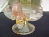 Click to view larger image of Vintage Venitian Art Glass Sherbert and Plate (Image2)