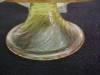 Click to view larger image of Vintage Venitian Art Glass Sherbert and Plate (Image6)