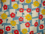 Click to view larger image of Vintage Floral 1930's-40's Cotton Fabric (Image8)