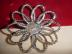Click to view larger image of Weiss Large Rhinestone Flower Pin (Image2)