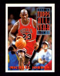 f45ebf6d825e 1994 TOPPS ALL-STAR TEAM BASKETBALL (Michael Jordan Basketball and Baseball  Cards) at PAT S ONLINE GIFTS   COLLECTIBLES
