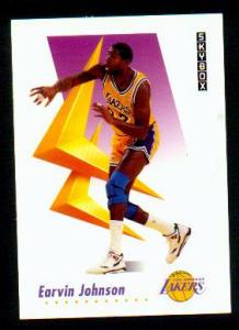 1991 Magic Johnson Skybox Collector Card (Image1)