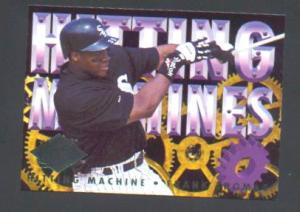 1994 FLEER  ULTRA HITTING MACHINES (Image1)