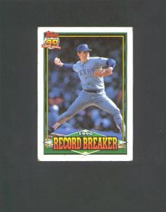 1990 TOPPS 40 YEARS RECORD BREAKER (Image1)