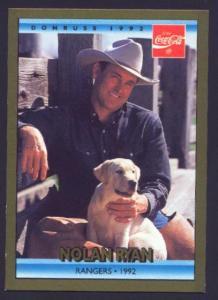 1992 DONRUSS COCA COLA (RANGERS 92) (Image1)