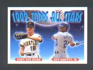 Topps 1992 (Pictures Ken & Andy Van Slyke) (Image1)