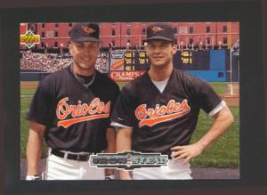1992 UPPER DECK IRON AND STEAL CAL AND BRADY ANDERSON (Image1)