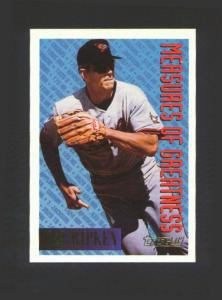 1994 TOPPS GOLD MEASURE OF GREATNESS (Image1)