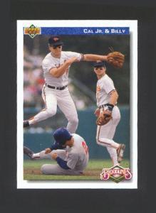 1992 UPPER DECK BLOODLINES CAL AND BILLY RIPKEN (Image1)