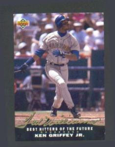 92 UPPER DECK TED WILLIAMS FEATURING KEN GRIFFEY (Image1)