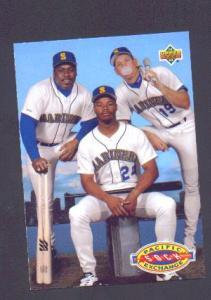 92  UPPER DECK CARD - KEN JR, KEN SR. & KEVIN MITCHELL (Image1)