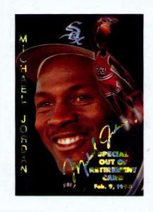 1995 SPORTS STARS USA OUT OF RETIREMENT CARD (Image1)