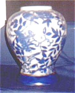 Blue Bird China Vase (Image1)