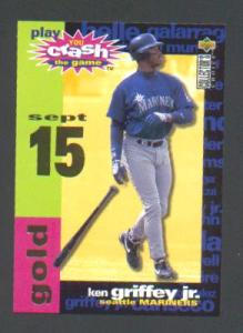 1998 COLLECTOR'S CHOICE YOU CRASH THE GAME GAME PIECE (Image1)