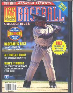 1994 Tuff Stuff Magazine with Ken Griffey cutout still attached to the front cover (Image1)