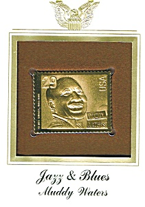 22kt Gold Foil Muddy Waters Stamp (Image1)