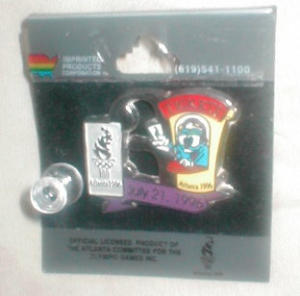 1996 Olympic Pin #9 (Image1)