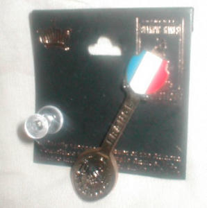 1996 Olympic France Spoon Pin (Image1)