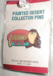 1994  Warner Bros. Taz Pin (Image1)