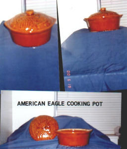 American Eagle Cooking Pot (Image1)