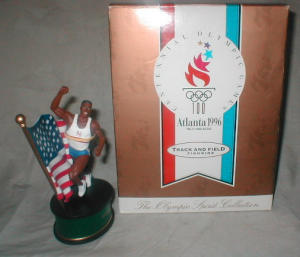 1996 Olympic Track and Field Figurine (Image1)