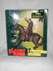 Planet Of The Apes Thade With Battle Steed