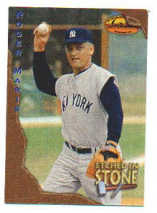 1994 Ted Williams Card Co. Roger Maris Card (Image1)